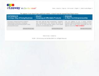 ecosway.com.my screenshot
