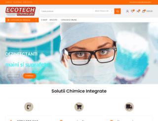 ecotech.com.ro screenshot