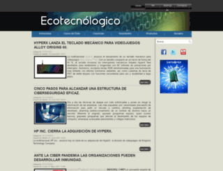 ecotecnologico.com screenshot