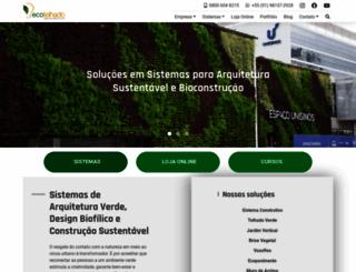 ecotelhado.com.br screenshot