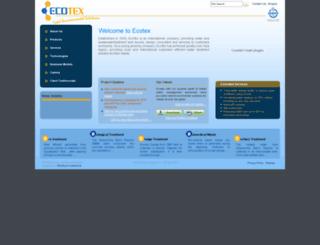 ecotex.com.sg screenshot