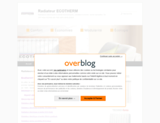 ecotherm.fr screenshot