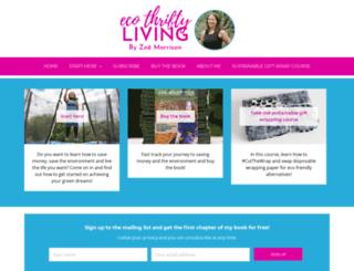 ecothriftyliving.com screenshot