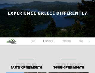 ecotourism-greece.com screenshot