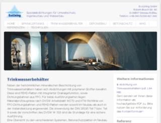 ecotrinkwasser.de screenshot