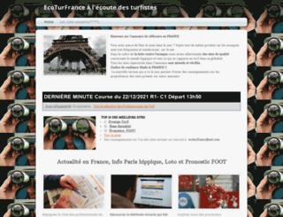 ecoturfrance.webs.com screenshot