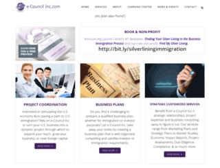 ecouncilinc.com screenshot