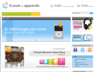 ecoute-et-apprends.fr screenshot