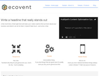 ecoventsystems-1.hs-sites.com screenshot