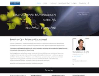 ecovisor.fi screenshot