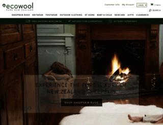 ecowool.com screenshot