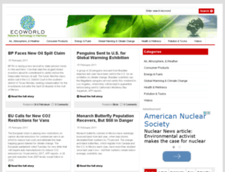 ecoworld.com screenshot