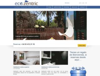 ecozentric.com screenshot