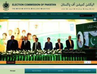 ecp.gov.pk screenshot