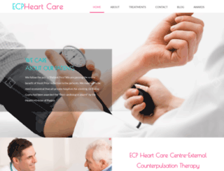 ecpheartcare.com screenshot