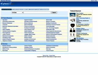 ecplaza.in screenshot