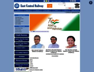 ecr.indianrailways.gov.in screenshot