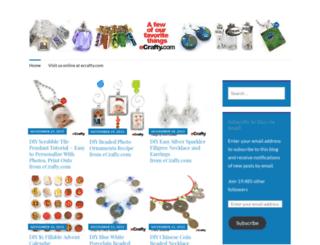 ecrafty.wordpress.com screenshot