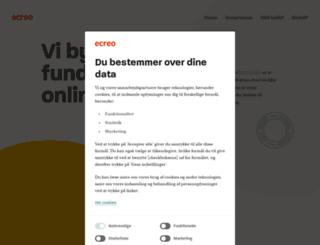 ecreo.dk screenshot