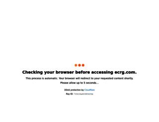 ecrg.com screenshot