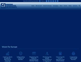 ecrgroup.eu screenshot