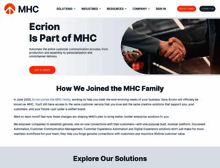 ecrion.com screenshot