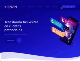 ecrm.cl screenshot