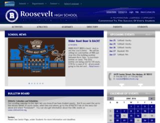 ecroosevelt.dmschools.org screenshot