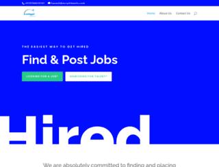 ecruitments.in screenshot