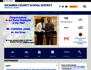 ecsd-fl.schoolloop.com screenshot