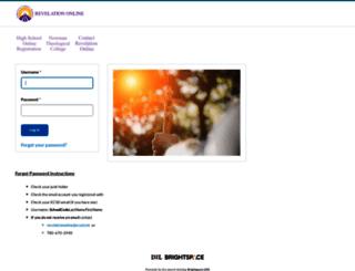 ecsd.desire2learn.com screenshot