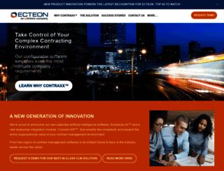 ecteon.com screenshot