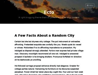 ectodemo.wordpress.com screenshot