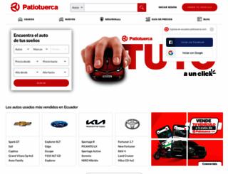 ecuador.patiotuerca.com screenshot