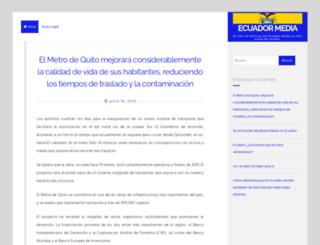 ecuadormedia.com screenshot