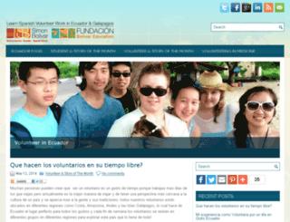 ecuadorschools.com screenshot