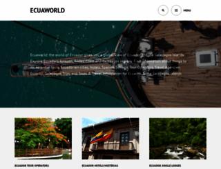 ecuaworld.com screenshot