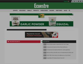 ecuestre.es screenshot