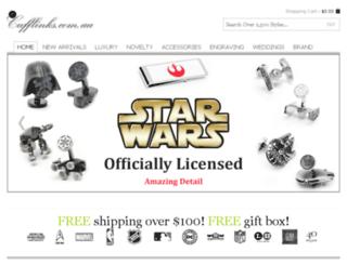 ecufflinks.com.au screenshot
