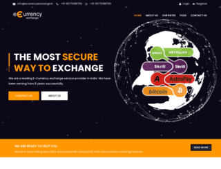 ecurrencyexchange.co.in screenshot