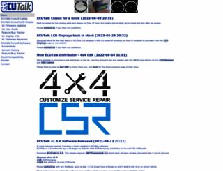 ecutalk.com screenshot