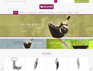 ecuvee.cl screenshot