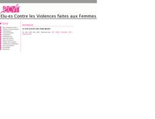 ecvf.online.fr screenshot