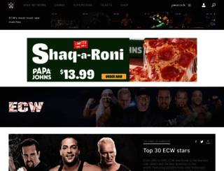 ecw.com screenshot