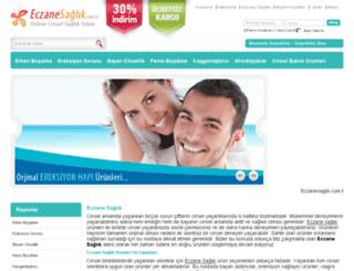 eczanesaglik.com.tr screenshot