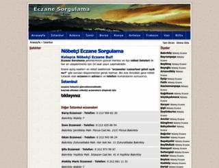 eczanesorgulama.com screenshot