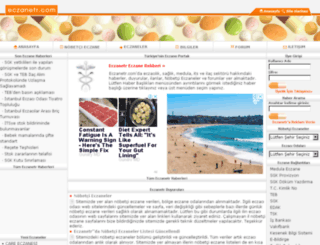 eczanetr.com screenshot
