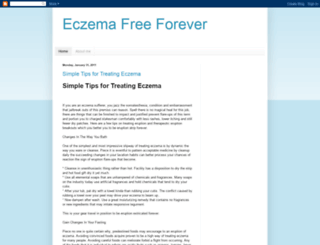eczema-free-forever-now.blogspot.com screenshot
