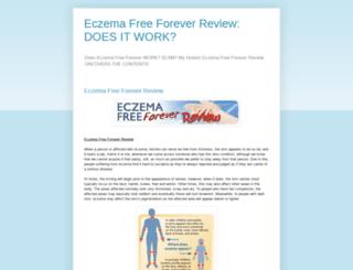 eczema-free-forever-review.blogspot.com screenshot