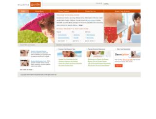 eczemaguide.ca screenshot